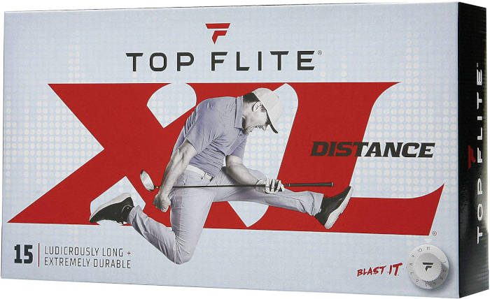 topflite xl - one of the best golf balls in the wind