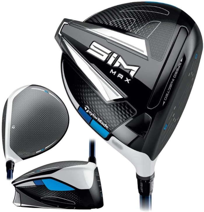 TaylorMade SIM Max - one of the best drivers for beginners