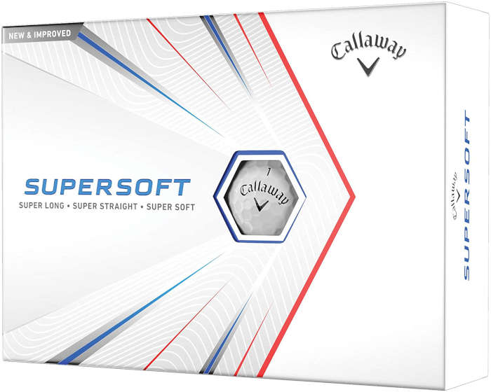 Callaway Supersoft - best golf ball for slow swing speed